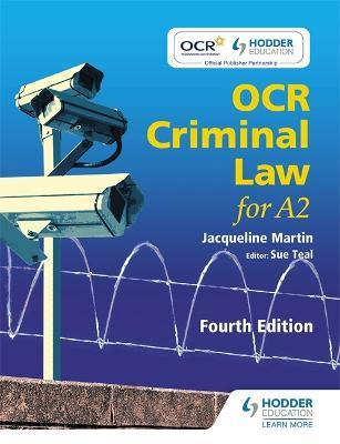 ocr criminal law insanity You are viewing : home » ocr unit g153 - criminal law ocr unit g153 - criminal law candidates will study two related units for their gce advanced qualification the two as units wil now be worth 50% of the total advanced gce marks: unit g151 being 30% of the total advanced gce marks and unit g152 being 20% of the total advanced gce marks.