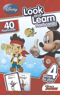 Disney Junior Look and Learn Flashcards