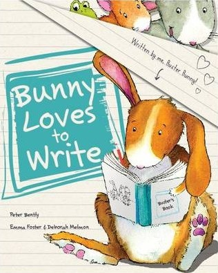 Bunny Loves to Write (Picture Story Book)