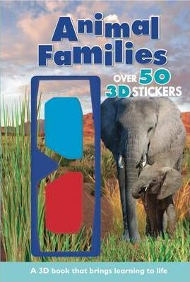 Animal Families - 3d Reference Reader with 3d Glasses