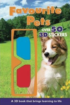 Favourite Pets - 3d Reference Reader with 3d Glasses