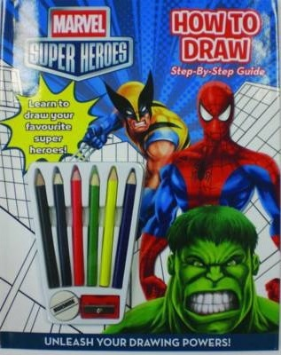 Marvel Super Heroes How to Draw Activity