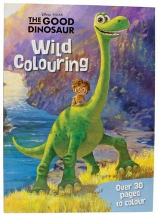 disney pixar the good dinosaur wild colouring - Dinosaure Disney