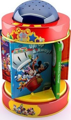Disney Junior Mickey Mouse Clubhouse Sweet Dreams Carousel Library  Lights and music! 3 functions!