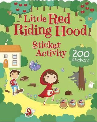 The Little Red Riding Hood Sticker Activity