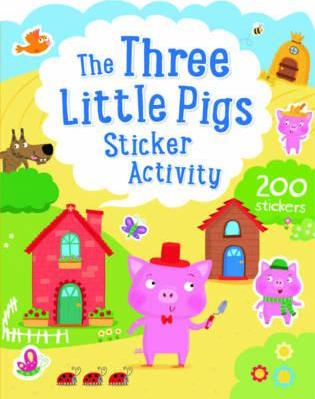 The Three Little Pigs Sticker Activity