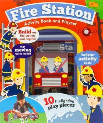 Fire Station Activity Book and Playset