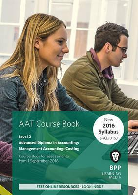 AAT Management Accounting Costing  Coursebook