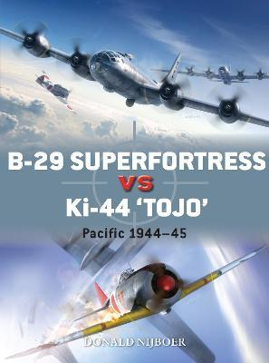 B-29 Superfortress vs Ki-44 'Tojo'