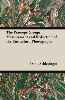 The Praesepe Group: Measurement and Reduction of the Rutherfurd Photographs