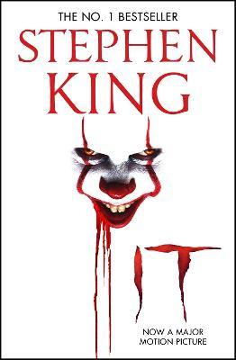 It : The classic book from Stephen King with a new film tie-in cover to IT: CHAPTER 2, due for release September 2019