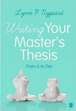 Writing Your Master's Thesis