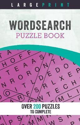 photograph about Large Print Word Search Printable named Superior Print Phrase Appear Puzzle Guide : Parragon Guides Ltd