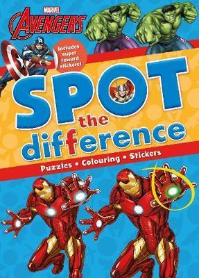 Marvel Avengers Spot the Difference