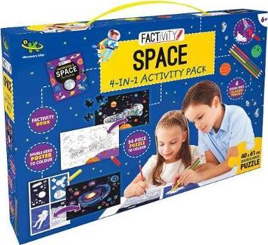 Discovery Kids Factivity Space 4-in-1 Activity Pack