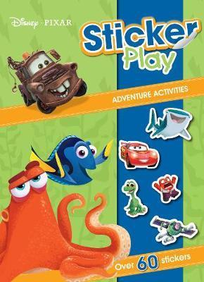 Disney Pixar Sticker Play Adventure Activities
