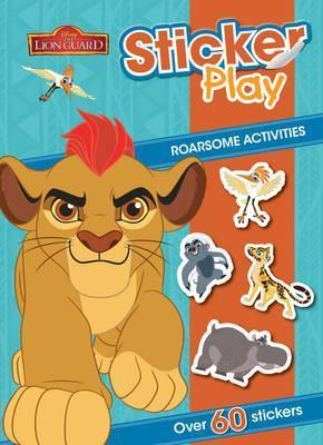 Disney Junior The Lion Guard Sticker Play Roarsome Activities  Over 60 Stickers