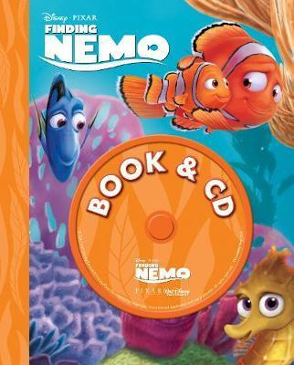 Disney Pixar Finding Nemo Book & CD