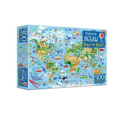 Map of the World Book and Jigsaw