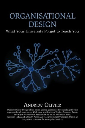 Organisational Design : What Your University Forgot to Teach You