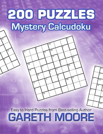 Mystery Calcudoku  200 Puzzles