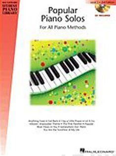 Hal Leonard Student Piano Library  Popular Piano Solos 2nd Edition Level 5 (Book/CD)