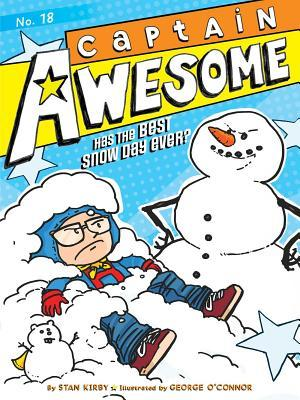 Captain Awesome Has the Best Snow Day Ever?, Volume 18