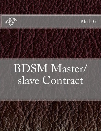 Bdsm master contract that