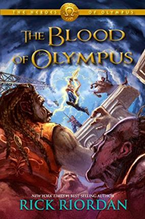Heroes of Olympus: Book Five, The Blood of Olympus (International Edition)