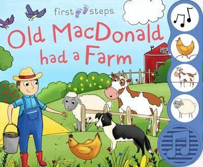First Steps Old MacDonald Sound Book