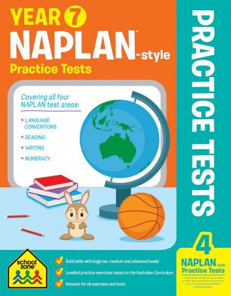 Year 7 NAPLAN - Style Reading Workbook and Tests