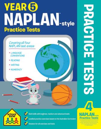 School Zone: Year 5 NAPLAN-style Practice Tests