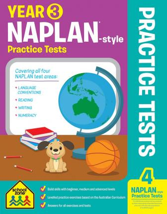 Year 3 NAPLAN - Style Reading Workbook And Tests