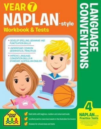 Year 7 NAPLAN*-style Language Conventions Workbook & Tests