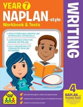 Year 7 NAPLAN*-style Writing Workbook & Tests