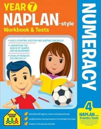 Year 7 NAPLAN*-style Numeracy Workbook & Tests