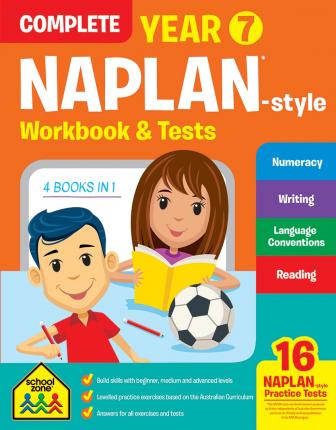 Complete Year 7 NAPLAN*-style Workbook & Tests