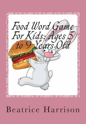 Food Word Game for Kids