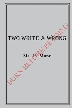 Two Write a Wrong