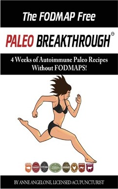 The Fodmap Free Paleo Breakthrough : 4 Weeks of Autoimmune Paleo Recipes Without Fodmaps – Anne Angelone
