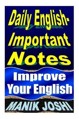 Daily English Important Notes