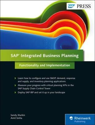 SAP Integrated Business Planning : Sandy Markin : 9781493214273
