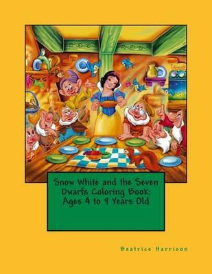 Snow White and the Seven Dwarfs Coloring Book