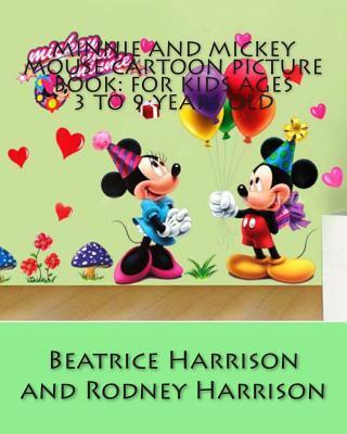 Minnie and Mickey Mouse Cartoon Picture Book