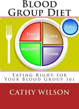 Blood Group Diet : Eating Right for Your Blood Group 101 – Cathy Wilson