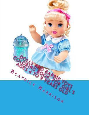 Dolls and Barbie Toys Coloring Book