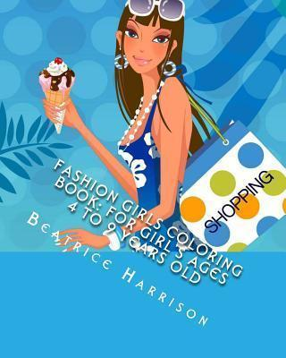 Fashion Girls Coloring Book