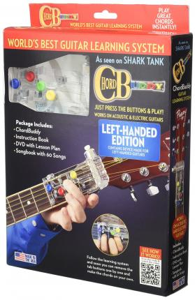 Chordbuddy Left-handed Guitar Learning System Pack