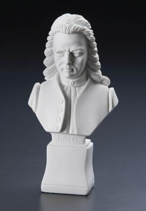Composer Statuette 7inch Polyresin Bach