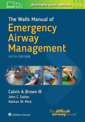 The Walls Manual of Emergency Airway Management - Brown